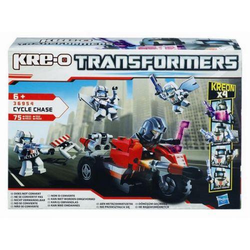 Hasbro KRE-O Transformers s motocyklem a raketometem