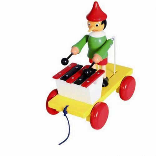 Bino Tahací Pinocchio s xylofonem cena od 250 Kč