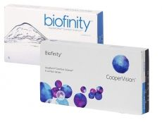 CooperVision Biofinity (6 čoček) cena od 533 Kč