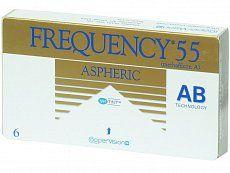 CooperVision Frequency 55 Aspheric (6 čoček)
