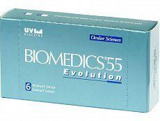 CooperVision Biomedics 55 Evolution (6 čoček) cena od 230 Kč