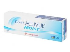 Johnson & Johnson 1 Day Acuvue Moist (30 čoček)