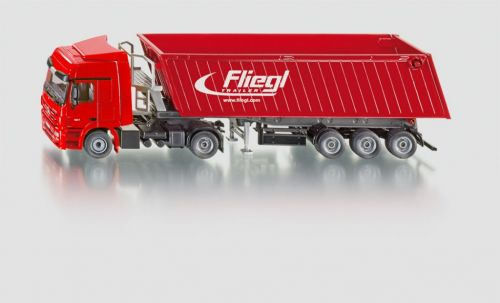 SIKU Kamion s vyklápěcím vlekem červený cena od 502 Kč