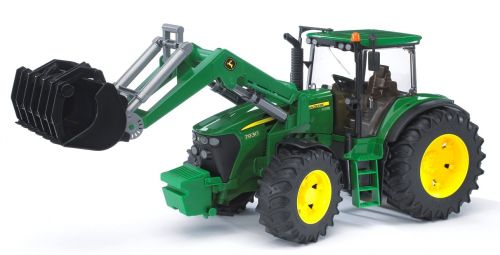 BRUDER Traktor John Deere 7930 s předním nakladačem