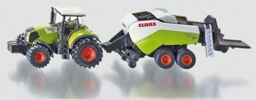 SIKU Claas Axion s lisem na velké balíky cena od 199 Kč