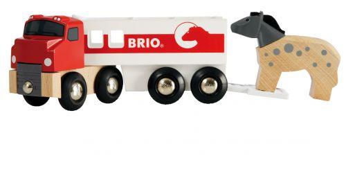Brio Kamión pro přepravu koní s koníkem cena od 218 Kč