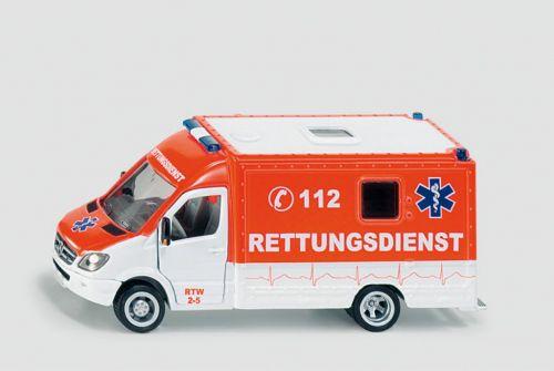 SIKU Záchranný vůz Mercedes Sprinter 1:50 cena od 287 Kč