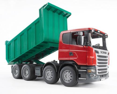 BRUDER SCANIA R vyklápěcí nákladní auto 1:16 cena od 713 Kč