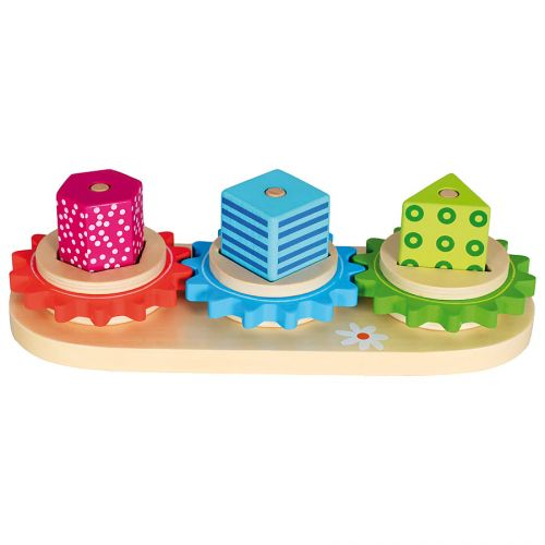 Bino Dřevěné hračky - Poznej tvary, Trio cena od 281 Kč