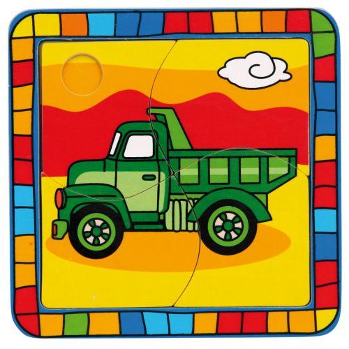 Bino Vkládací puzzle nákladní auto cena od 0 Kč