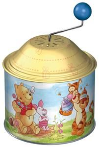 LENA 52727 - Hrající skříňka Medvídek Pú cena od 119 Kč