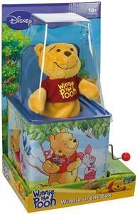 LENA 52926 - Medvídek Pú v hrající skříňce cena od 0 Kč