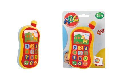 Simba S 4012745 - Plyšový telefon se zvukem cena od 125 Kč