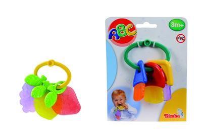 Simba S 4014766 - Kousátko, 2 druhy - klíče/jahody cena od 60 Kč