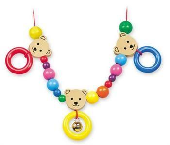 Řetěz do kočárku - 3 medvědi - Trio cena od 250 Kč