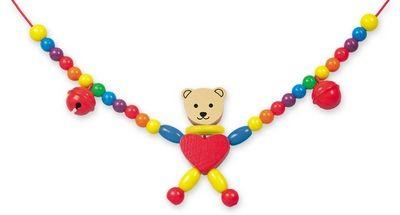 Řetěz do kočárku - medvěd - Cara cena od 227 Kč