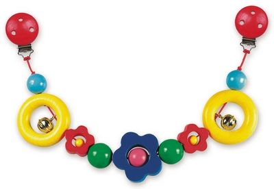 Řetěz do kočárku - kytka - Flora cena od 227 Kč
