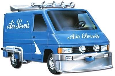 Vista Renault Trafic Air Servis cena od 148 Kč