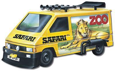 Vista Renault Trafic ZOO/Safari