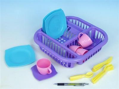 WADER Odkapávač na nádobí plast 25 ks v síťce cena od 0 Kč
