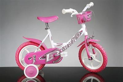 DINO Bikes Dívčí dětské kolo 124RLN