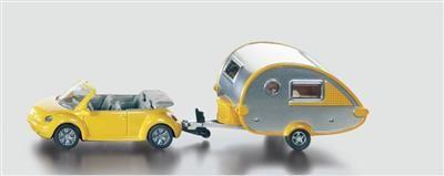 SIKU Super Osobní automobil s obytným přívěsem cena od 159 Kč