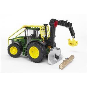 BRUDER Lesní traktor JOHN DEERE