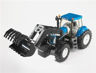 BRUDER Traktor New Holland TG285 se lžící cena od 610 Kč