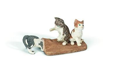 Schleich 3 koťata hrající si pod kobercem 13674 cena od 105 Kč