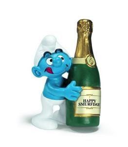 Schleich Šmoula se šampaňským 20708 cena od 59 Kč