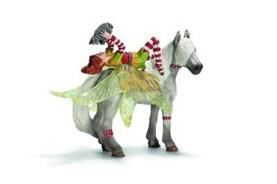 Schleich Elf Marvin na koni 70427 cena od 294 Kč