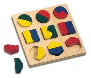 Bino Puzzle geometrické tvary (84029)