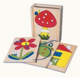 Provlíkací obrázkové destičky v krabičce cena od 165 Kč