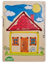 LENA Navlékací obrázek, dům 32037 cena od 127 Kč