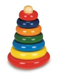 Bino Skládací pyramida barevná káča 81034 cena od 160 Kč