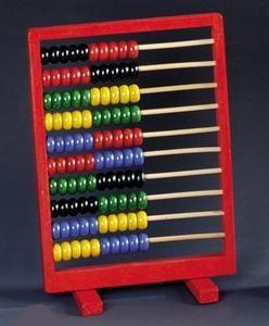 Bino: BINO Dřevěné počítadlo červené
