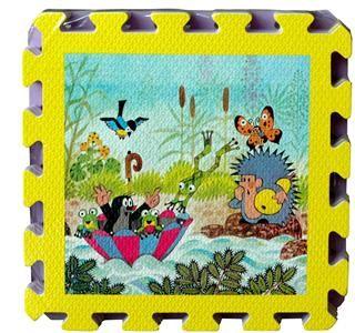 Pěnové puzzle Krtek 30x30 8ks