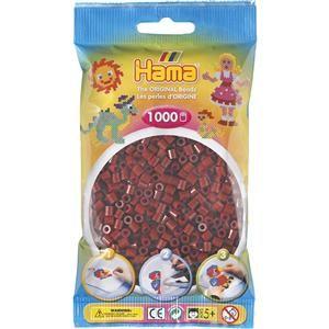 Hama Tmavě hnědé korálky (H207-30) cena od 45 Kč