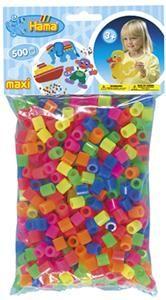 Hama Mix korálků MAXI v sáčku 500 ks (H8472) cena od 221 Kč