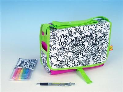 ALEX Vymaluj si svoji kabelku drak 20x27 cm (508P) cena od 0 Kč