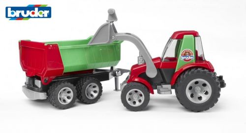 Bruder Traktor s vozem