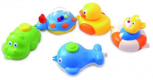 Canpol babies zvířátka do vody vláček