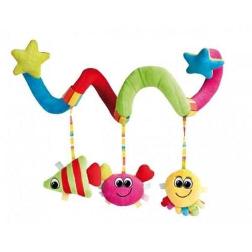 Canpol babies plyšová hrající spirála do kočárku oceán cena od 331 Kč