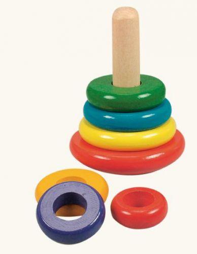 Bino Skládací pyramida barevná cena od 0 Kč