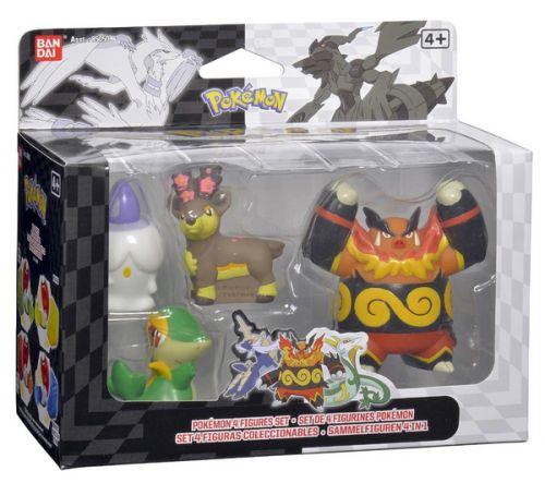 BANDAI Pokemon Figurka Mega Collection Set A2