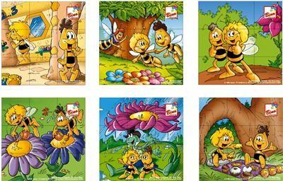 Bino Včelka Mája – obrázkové kostky cena od 255 Kč