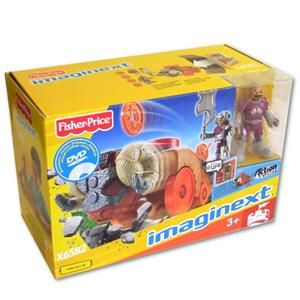 Fisher Price Imaginext Dračí hrad Rytíř s vozidlem X6582 cena od 619 Kč