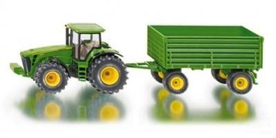 SIKU Farmer Traktor John Deere s vlekem 1:50 cena od 498 Kč