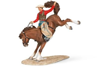 Schleich Rodeo kůň s jezdcem 42046 cena od 0 Kč
