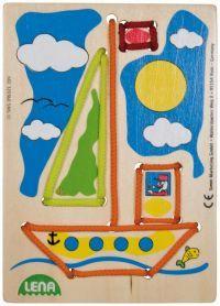 LENA Navlékací obrázek plachetnice cena od 0 Kč